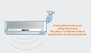 Tiết kiệm điện với điều hòa nhiệt độ