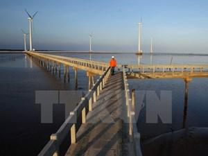 Phát triển điện gió giảm phát thải khí nhà kính