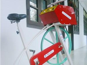 Xe đạp tập thể dục phát điện: Nguồn năng lượng xanh hiệu quả