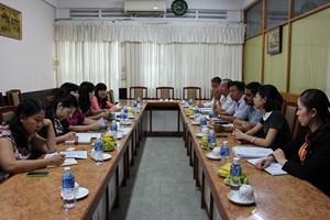 Đoàn công tác dự án LCEE làm việc với Sở Công Thương Cần Thơ