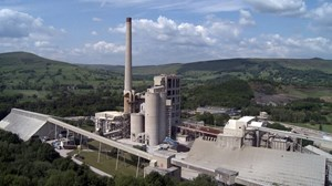 UK's largest cement plant makes switch to be fuelled by waste