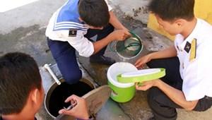 Biến nước biển thành nước ngọt ở Trường Sa