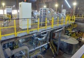 Công nghệ bơm chân không TKNL trong công nghiệp luyện kim