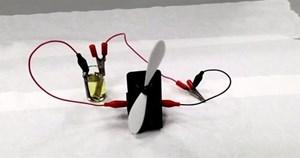 Pin tự sạc bằng năng lượng mặt trời