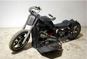 Chế tạo thành công xe máy chạy bằng năng lượng gió