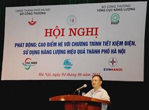 Hà Nội tăng cường tuyên truyền tiết kiệm điện
