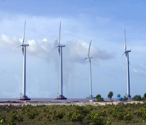 VND70,000 billion Invested in Wind Power Plant in Ca Mau