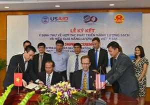 Việt Nam – Hoa Kỳ hợp tác phát triển năng lượng sạch và hiệu quả năng lượng