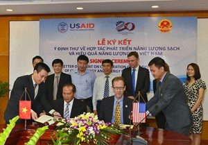 USA - Vietnam Cooperation and Development of Clean Energy and Energy Efficiency