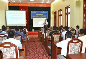 """Khai mạc lớp đào tạo """"Người quản lý năng lượng năm 2015"""" tại Quảng Ninh"""