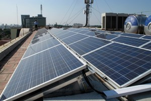 First Primary School  Uses Solar Energy in Ho Chi Minh city