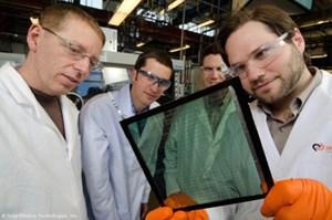 Cửa sổ tạo năng lượng mặt trời gấp 50 lần pin quang năng