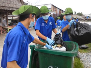 """Ca Mau to """"Clean Up the World 2015"""""""