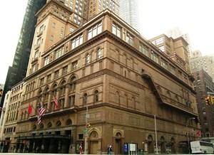 """Carnegie Hall nhận chứng nhận Bạc """"Định hướng Thiết kế Năng lượng Môi trường"""""""