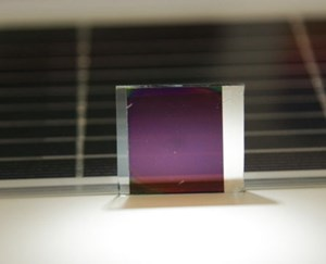 Novel Efficient and Low-cost Semitransparent Solar Cells