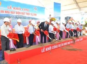 Thiên Tân thành lập nhà máy điện mặt trời đầu tiên tại Việt Nam