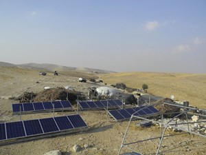 Solar and Wind Technology Delivers Power and Clean Water to Villagers in the Wes