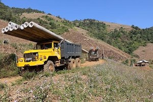 Hơn 2000 hộ dân ở Sơn La có điện dùng trước Tết