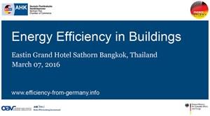 Đức – Thái Lan đẩy mạnh hợp tác trong lĩnh vực hiệu quả năng lượng