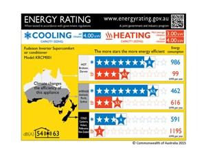 Úc dự định thay đổi quy định nhãn năng lượng cho điều hòa