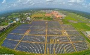 Sân bay Cochin, Ấn Độ sử dụng 100% điện năng từ năng lượng mặt trời