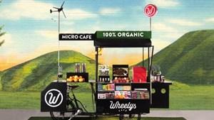 Quán cafe di động dùng 100% năng lượng sạch