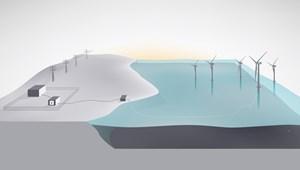 Batwind - pin lưu trữ điện năng sản xuất từ năng lượng gió ngoài khơi