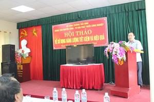 Hội thảo về sử dụng năng lượng tiết kiệm và hiệu quả tại Thái Bình