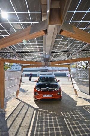 BMW South Africa Rolls Out Solar Carport