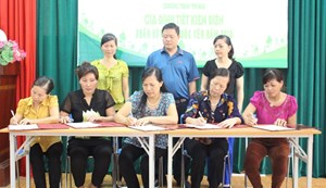 Phuc Yen Town Launched Power Saving Family Emulation