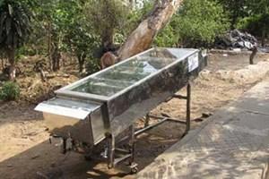 Máy sấy nông sản, thực phẩm bằng năng lượng mặt trời