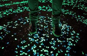 Xi măng phát sáng trong đêm giúp tiết kiệm điện năng