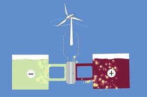 Pin lỏng - giải pháp đột phá cho năng lượng tái tạo