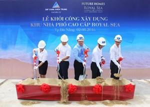 Khởi công dự án nhà phố cao cấp sử dụng năng lượng sạch ở Đà Nẵng