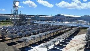 Nhà máy tập trung năng lượng mặt trời của Mitsubishi Hitachi mang lại nhiều lợi ích