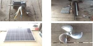 Du lịch sông nước bằng xuồng sử dụng năng lượng mặt trời