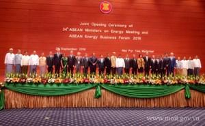 Hội nghị Bộ trưởng Năng lượng ASEAN lần thứ 34