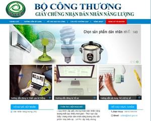 Doanh nghiệp thực hiện đăng ký trực tuyến đối với thủ tục dán nhãn năng lượng