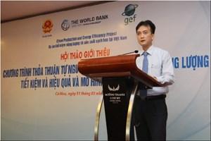 """Hội thảo """"Phổ biến mô hình cung cấp dịch vụ năng lượng (ESCO) tại Cà Mau"""""""