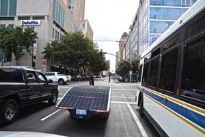 Hà Lan thử nghiệm ô tô chạy bằng năng lượng mặt trời