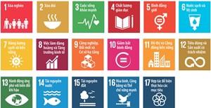 Các mục tiêu Phát triển bền vững ngành Công Thương