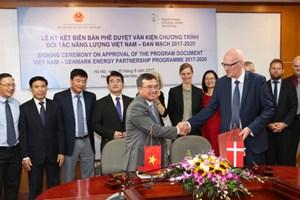 Chương trình Hợp tác Đối tác Năng lượng Việt Nam – Đan Mạch