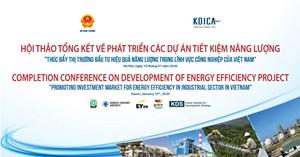 Hội thảo về đầu tư hiệu quả năng lượng trong công nghiệp
