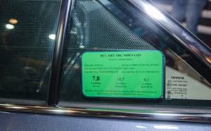 Từ ngày 01/01/2020: Xe máy phải dán nhãn năng lượng