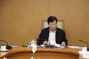Phó Thủ tướng Chính Phủ Trịnh Đình Dũng điều hành họp Ban Chỉ đạo Chương trình VNEEP 3