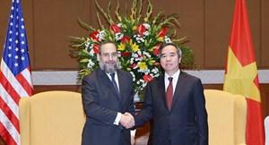 Tăng cường hợp tác giữa Việt Nam và Hoa Kỳ trong lĩnh vực năng lượng
