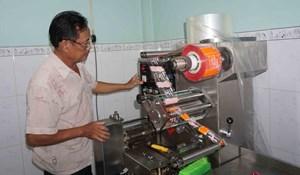 Cơ sở bánh kẹo Cẩm Phát (Trà Vinh) tiết kiệm điện, giảm chi phí sản xuất