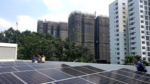 Ứng dụng năng lượng mặt trời vào khu đô thị sinh thái thông minh