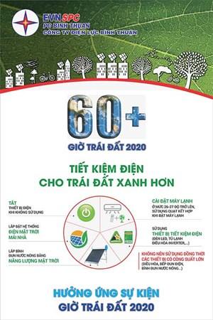 Bình Thuận phát động sự kiện Giờ Trái đất năm 2020