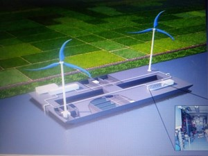 Giải pháp khử mặn nước bằng năng lượng gió